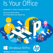 HP The World Is Your Office 20Sept2018 - Corporate IT Solution Provider of Cloud Security Digital Workplace Networking & DataCenter Solutions from Cisco Dell Technologies HP HPE Microsoft APC Avaya Aruba Epson Forcepoint Fortinet Symantec VMware. Corporate IT Reseller Philippines. IT Solution Provider Philippines. Top IT Companies Philippines. Top IT Reseller Philippines